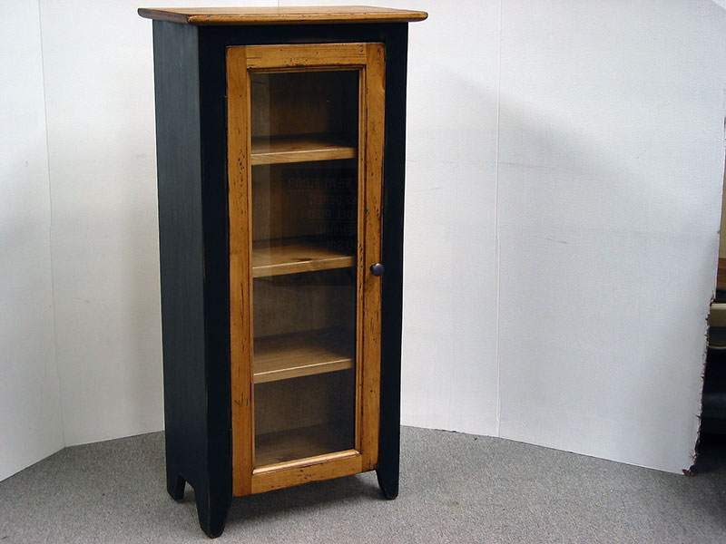 Bathroom cabinet / Small display Cabinet / Jelly Cabinet / China Cabinet / Pine Jam Cupboards