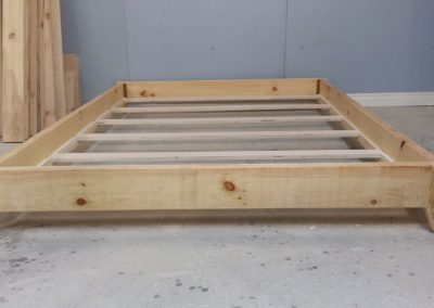 Double Size Platform Bed