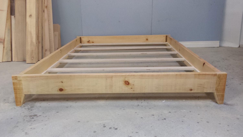 double size platform bed  harvest treasures - double size platform bed