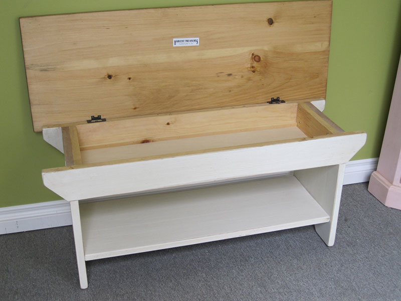 Entry Cottage Bench / Bench With Storage