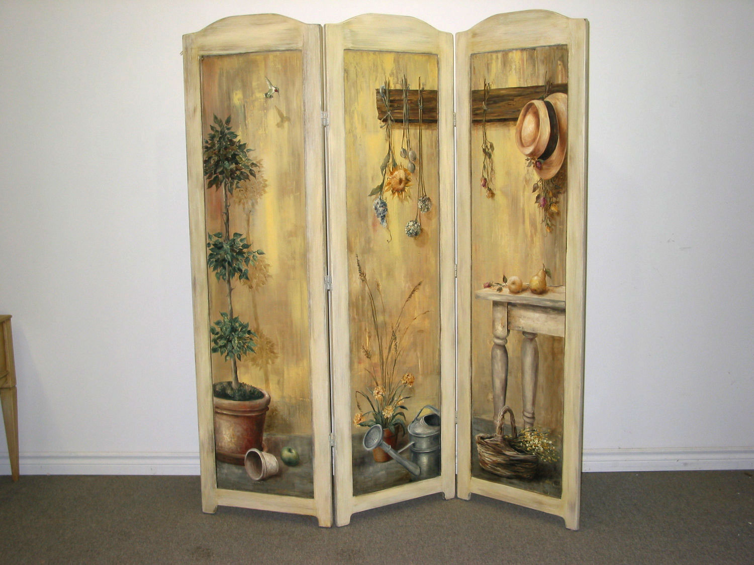 Hand Painted Room Dividers o2 Pilates