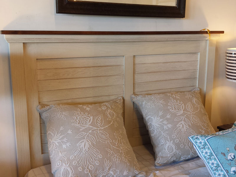 head board queen size headboard painted oak headboard white chic headboard shabby chic bed frame