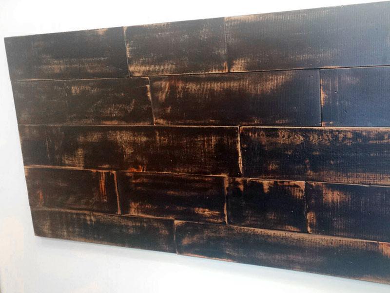 Headboard / Free Shipping / Rustic Wood Headboard / Queen Size Head Board