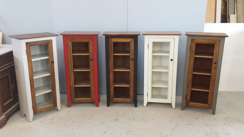 Jelly Cabinet / Kitchen Cupboard / One Door Cabinet / Various Colours