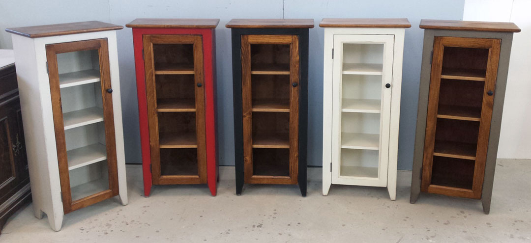 Jelly Cabinets in custom Colours and Finishes