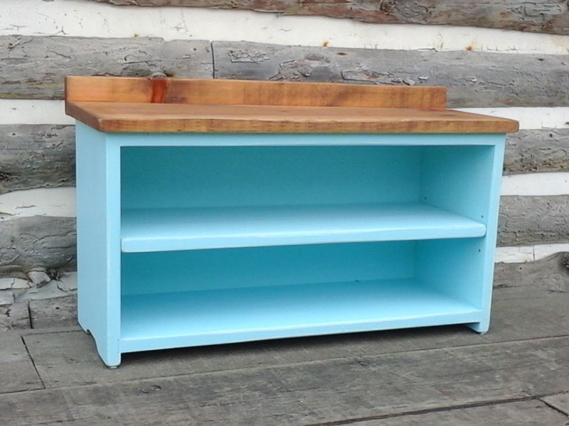 Shoe Bench / Entryway Shoe Organizer / Shabby Paint Bench / Benches