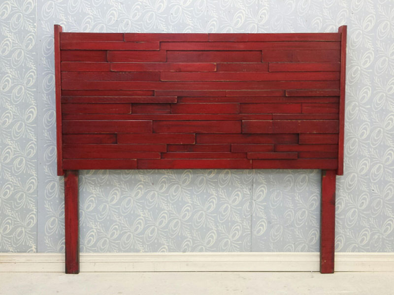 Wooden Headboard / Queen Bed Headboard / Read Bed / Shaby Chic Bedroom