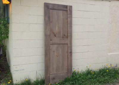 Rough Pine Barn Door